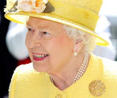 Queen Elizabeth is the spot of sunshine the British people need