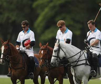 Prince Harry leads minute's silence for London Bridge victims before polo match