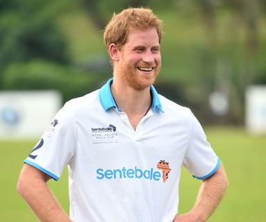 Prince Harry has officially landed in Sydney - see the first pics!