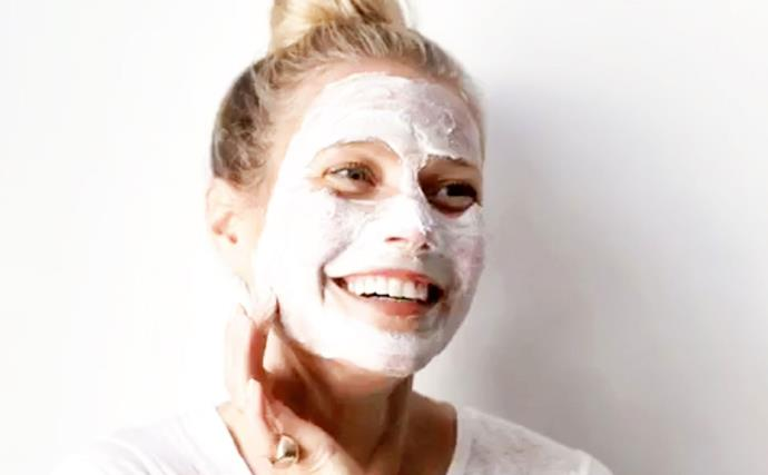 Gwyneth paltrow skin care routine