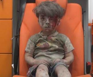 Omran Daqneesh, Syria, Aleppo, War