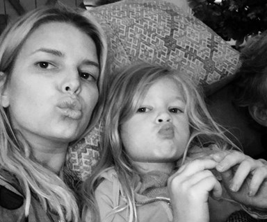 "Jessica Simpson slammed for ""inappropriate"" photo of daughter Maxwell"