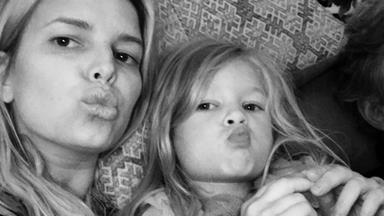 Jessica Simpson shares controversial photo of daughter Maxwell