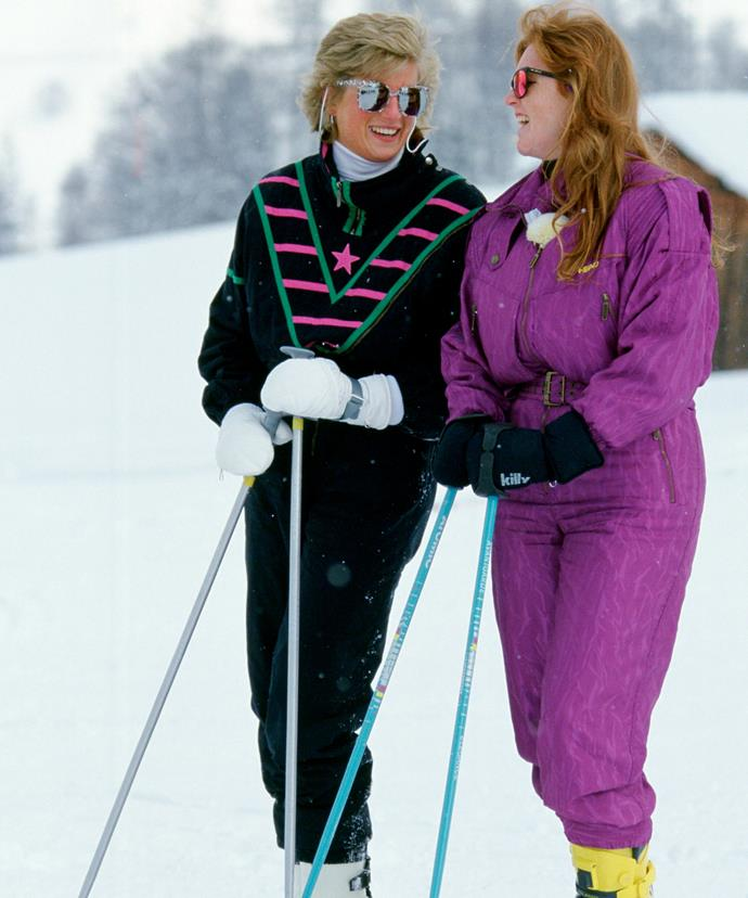 Diana and Fergie were believed to be great friends.