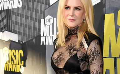 "Nicole Kidman talks about the ""rage"" she experienced after filming Big Little Lies"