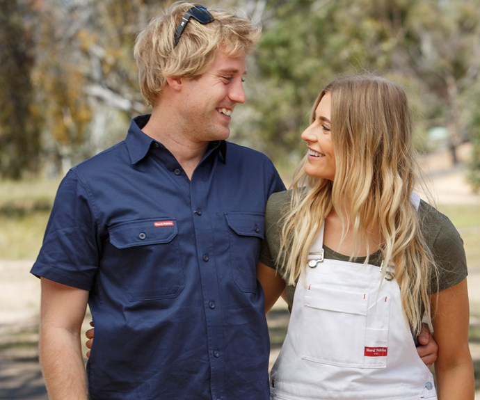 **Sean and Ella eliminated:** We were really sad to see Sean and Ella go. These guys were at the top of the leaderboard for a while at the start of the competition – and were strong contenders to win. Alas, the paramedics were sent home after the first round of garden reveals.