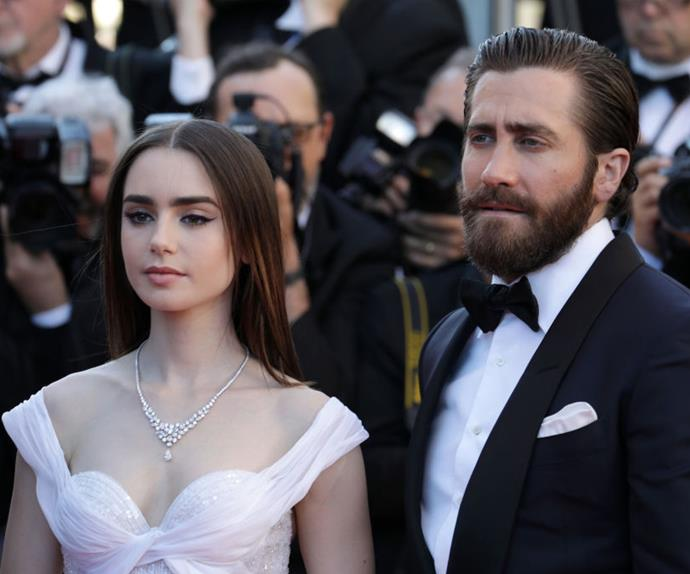 Lily Collins and Jake Gyllenhaal