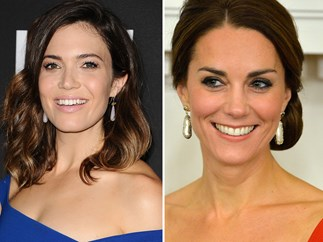 Mandy Moore, Duchess Kate in the same outift