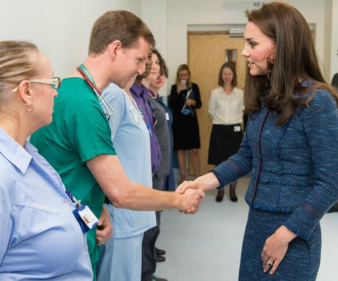 The much-loved royal took the time to praise the efforts of all those who worked tirelessly in the aftermath of the horrific attack.