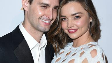 "Miranda Kerr finally speaks about her ""magical"" backyard wedding to Evan Spiegel"