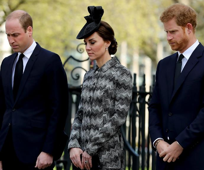 "Wills, Kate and Harry chose to make the donation as they were ""keen to offer their immediate support."""