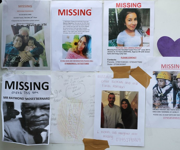 Dozens remain missing and unaccounted for following the tragedy.