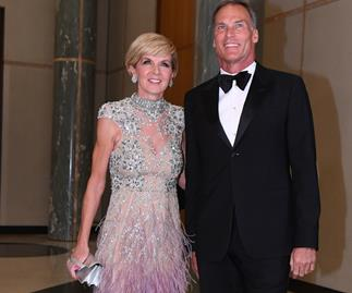 Julie Bishop's Mid-Winter ball dress cost $32,000