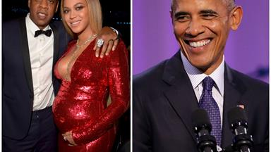 Did Barack Obama just reveal the sex of Beyoncé and Jay Z's twins?