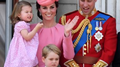 Everything you need to know about Prince George and Princess Charlotte's Trooping the Colour outfits