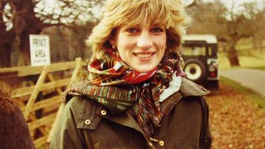 All new photos of Princess Diana have been released