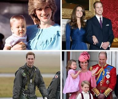 Prince William turns 35