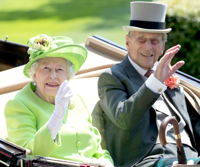 The Duke was in great spirits as he accompanied The Queen at Royal Ascot this week.