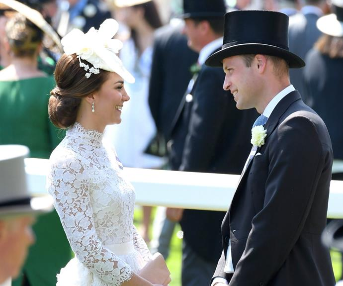 On Tuesday we saw Will and Kate at Ascot.