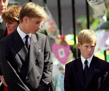 Prince William remembers Diana's funeral: 'I felt she was walking along beside us'