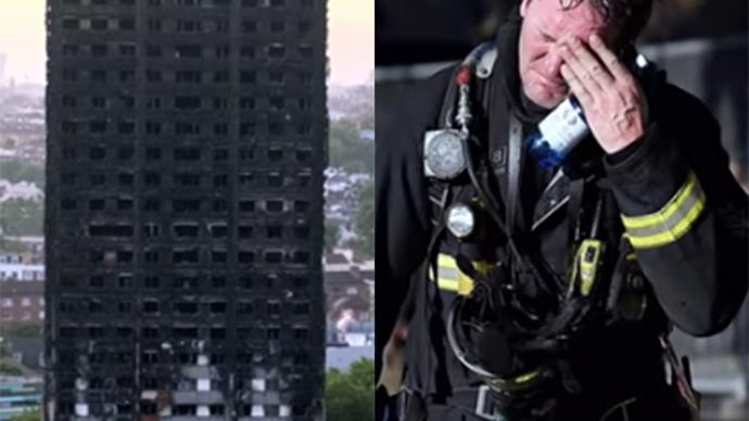 The emotional video for Simon Cowell's Grenfell Tower charity single has been released