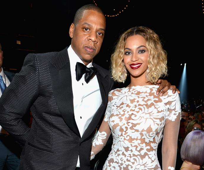 "New [parents](http://www.nowtolove.com.au/parenting/pregnancy-birth/beyonce-and-jay-zs-twins-were-born-premature-38431|target=""_blank"") Jay Z and Beyoncé reportedly check in as Frank Sinatra and Ingrid Jackson."