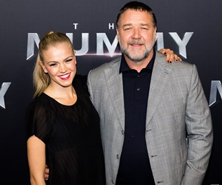 Russell Crowe and Sophia Forrest