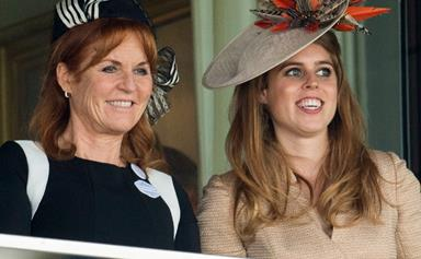 Sarah, Duchess of York joins daughters Beatrice and Eugenie at Royal Ascot