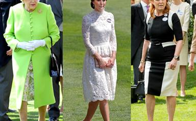 Ranked: Royal fashion choices at Ascot 2017