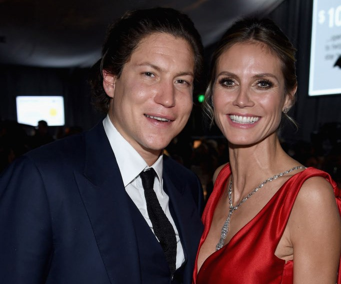 Vito Schnabel and Heidi Klum