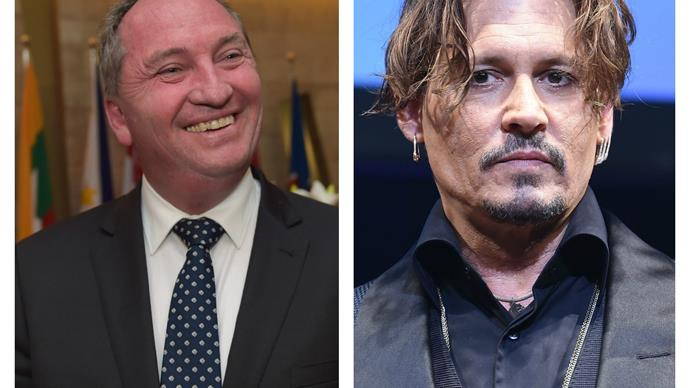 "Barnaby Joyce takes aim at Johnny Depp: ""He may have perjured himself"""