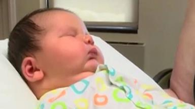 6.5kg baby sets new hospital record