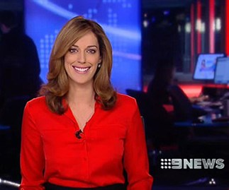 Channel Nine presenter says she's been inundated with 200 creepy messages from obsessive fan