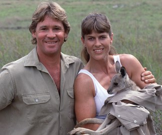 Terri and Steve Irwin