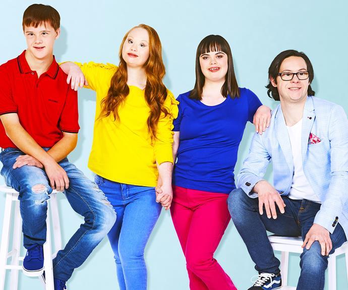 Rory O'Chee, Madeline Stuart, Olivia Hargroder, Nathan Basha
