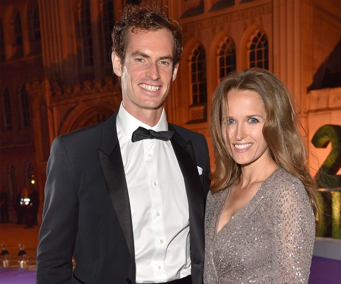 Andy Murray and Kim Sears