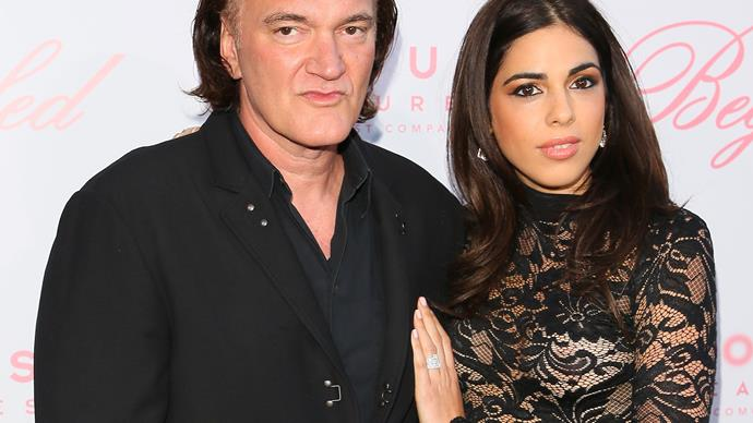 Quentin Tarantino engaged to on-again-off-again girlfriend