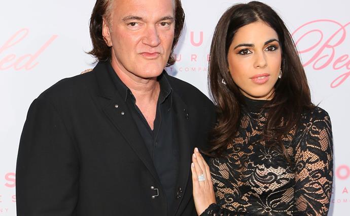 Quentin Tarantino engaged to on-again-off-again girlfriend