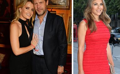 Lady Kitty Spencer reportedly caught in a love triangle with Liz Hurley