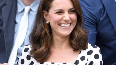 Duchess Kate debuts an ace new hairstyle at Wimbledon
