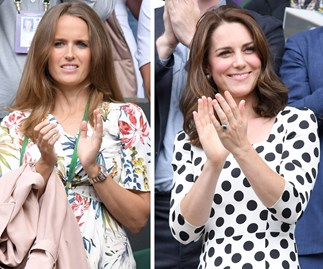 Kim Sears and Duchess Catherine