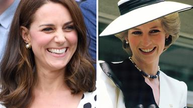 Duchess Catherine channelled the late Princess Diana again and we almost missed it