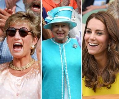 The best photos of the royals at Wimbledon