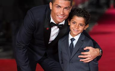 The Ronaldos are kicking family goals as Cristiano shares cute new pic with the twins