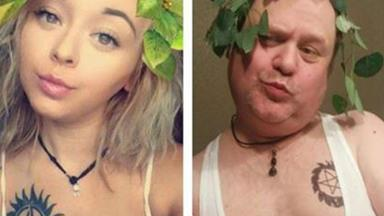 This ultimate cool dad is recreating his daughter's selfies