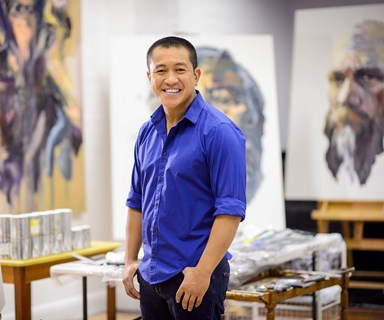 How Anh Do manages to capture character on canvas