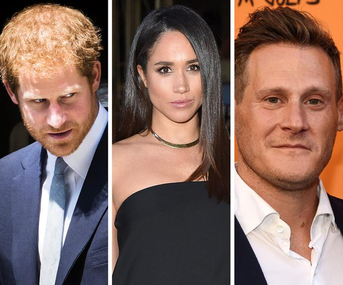 Prince Harry, Meghan Markle, Trevor Engelson