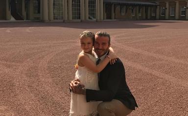 """Our little birthday princess"": Harper Beckham celebrates her sixth birthday at Buckingham Palace"