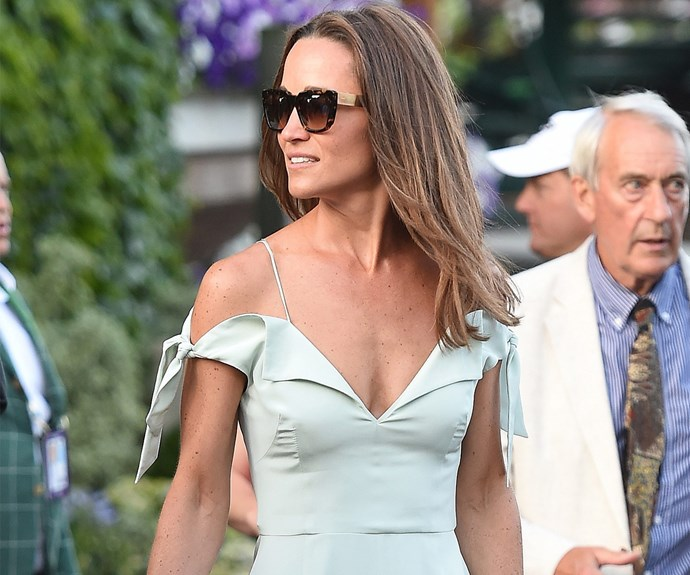 Middleton maidens Carole and Pippa hit up centre-court on Day 7 of Wimbledon