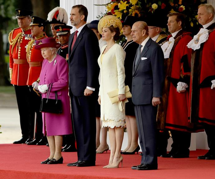 The important state visit was postponed on two occasions, firstly because of a political crisis in Spain and then again due to a scheduling conflict.